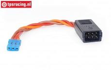 TPS59190 Silikon Y-kabel Uni Gold L10 cm, 1 st.