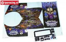 LOS240018/01 LMT Son Uva Digger Dekorbogen, Set