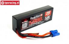 DYNB5025H5 2S LiPo Hard Case 5000 mHa-50C, 1 st.