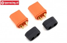SPMXCA503 Spektrum Stecker Male IC5, 2 st.
