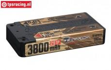 S638066 SUNPADOW 2S Li-Po Hardcase 3800 mAh-130C, 1 st.