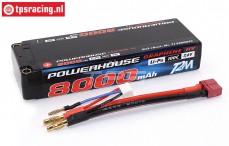 T1366002C FG 2S Li-Po Powerhouse 8000 mAh 100C, 1 st.