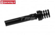 TPS0710/06 Aluminium Tankentlüftung Schwarz, 1 st.
