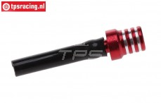 TPS0710/04 Aluminium Tankentlüftung Rot, 1 st.