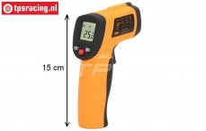 TPS0761 Thermometer Infrarot-Laser-Point Pistole, 1 stk.