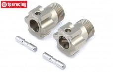 Spurverbreiterung, TLR +5,0 mm, (Aluminium), Set