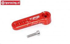 TPS0026/01 Aluminium-Servohebel 15Z- L39 mm Rot, 1 st.
