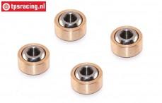 TPS4466/04 Hochleistungs Gelenkkugel, 4 St