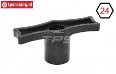 TPS9022 Radschlüssel Kunststoff 24 mm sechskant, 1 st.