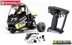 XR83001-04 X-Rider Flamingo Schwarz RTR, Set