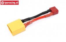 TPS4020 Adapterkabel XT90 männlich-T Stecker Buchse, 1 St.